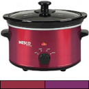 Nesco slow cooker in colors, 1.5 quarts