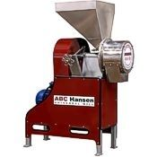 The ABC Hansen disc mill, grinder, plate grinder