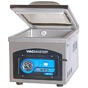 The Vacmaster VP215 chamber vacuum sealer.
