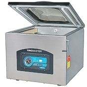 The Vacmaster VP321 commercial vacuum sealer, front view.