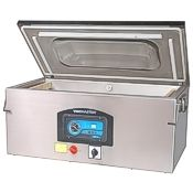 The Vacmaster vp330 chamber vacuum sealer, long chamber food sealer, great for fish.