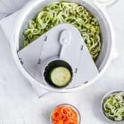 L'Chef Spiralizer for on Bosch Universal Plus mixer