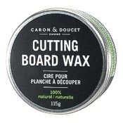 wood cutting board wax