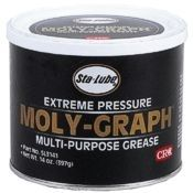 CRC Moly-Graph Multi-Purpose Lithium Grease, 14 Wt Oz