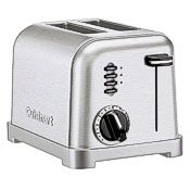 silver electric toaster