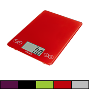 Escali Arti Glass Digital Scale, 15 lbs