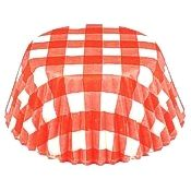 Red Gingham Standard Baking Cups, 50 count