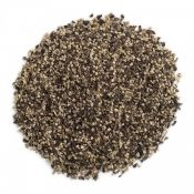 Coarse ground black pepper