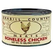 Grabill Chicken Chunks 13 oz., Case of 12