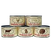 Grabill Meat Sampler Pack, 5 Cans x 13 oz