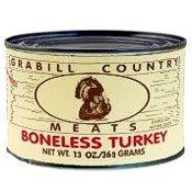 Grabill Turkey Chunks 13 oz., Case of 12