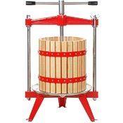 Harvest Bounty Presses, wood basket, 4 and 5 gallon