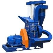 Commercial herb grinder, hammer mill for beans, pods, roots, tubers, glass, recycling, wheat, corn.