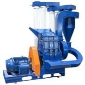 Quality, low cost basic hammer mill for glass recycling, wheat, beans, corn, tubers, roots, more.