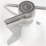 Dough hook extender accessory for small batches of dough