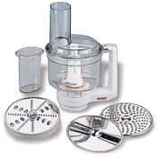 Food processor accessory for the Bosch Universal mixer.