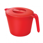 Kuhn Rikon  Microwave Cookware, Large, Red