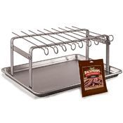LEM Jerky Hanger w/Skewers & Seasoning