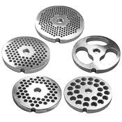 LEM Grinder Plates, Stainless #5
