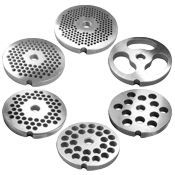 LEM Grinder Plates, Stainless #8
