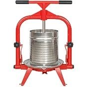 MacIntosh presses, stainless basket, 4 & 5 gallon