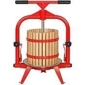 MacIntosh 4 & 5 gallon presses, wood basket