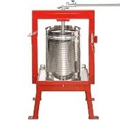 Maximizer presses, stainless basket, 20 & 36 liters