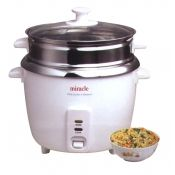 Miracle Stainless Rice Cooker ME81