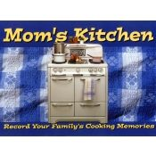 Mom's Kitchen Journal Book