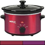 Nesco slow cooker in colors, 1.5 quarts