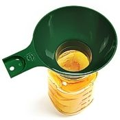 Plastic Jar Funnel, Wide Mouth