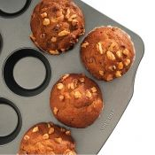 12 Cup Muffin Pan, Premium Nonstick