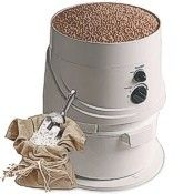 NutriMIll Classic flour mill with hopper extension