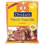 Egg crystals French toast powder