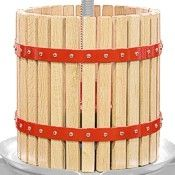 Red Oak Wood Fruit Press Basket
