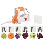 Paderno Spiral Vegetable Slicer, 6-Blade