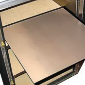 Sturdy, glass-reinforced nonstick baking sheet for Rofco brick oven