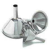 3 Piece Stainless Funnel Set