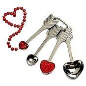 RSVP Heart & Arrow Measuring Spoons