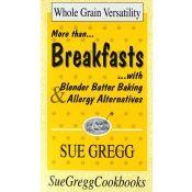 Breakfasts Cookbook by Sue Gregg