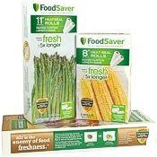 FoodSaver 2-Pack of Rolls