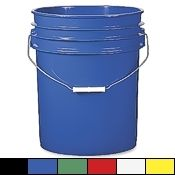Food-Safe 5 Gallon Bucket, white