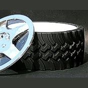 Rubberized Tire Bowl