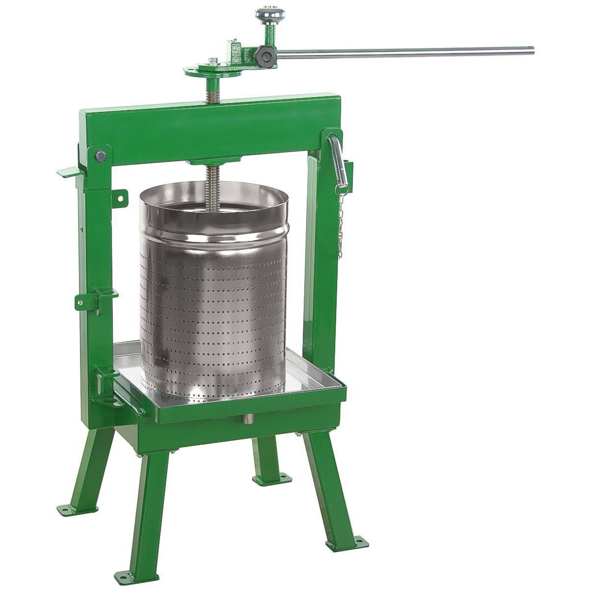 Glenwood wine press with gsam stainless basket ebay for Home wine press