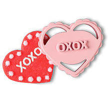 Whipping up something special for your Valentine? Find a red or pink bakeware treat and add to the fun.