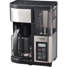 The newest coffee maker from Zojirushi brews up to twelve cups of hot coffee or six cups of iced coffee!