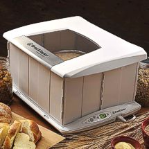 The Brød & Taylor Dough Proofer will keep those cold drafts away from your homemade bread dough.