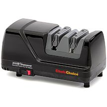 The Chef'sChoice 315XV Sharpener applies an extremely sharp 15° XV edge for effortless cutting!