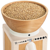 Combine the freshest-ever look in grain mill design with impeccable grinding performance and what do you get? The iconic NEW KoMo Mio!