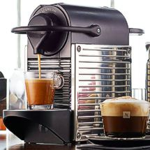 ON SALE: With the Nespresso Pixie your mom can enjoy a delicious espresso each morning!